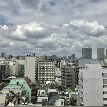 良い眺め〜!