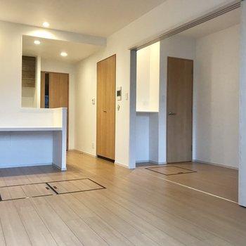 嬉しいポイントが溢れています、、 ※写真は3階の同間取り別部屋のものです