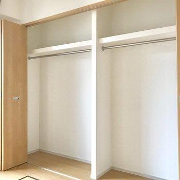 あけてみましたっ。なんて広々なんだ、、 ※写真は3階の同間取り別部屋のものです