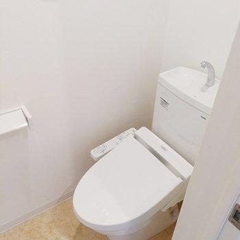 トイレも独立しているのは嬉しい!