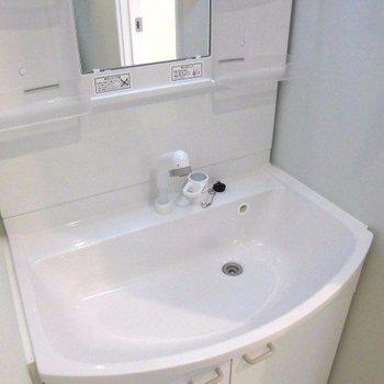 洗面台のボウルは深め※写真は前回募集時のものです。