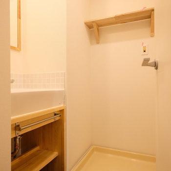 【イメージ】脱衣所もしっかりありますよ※似た間取りの別部屋