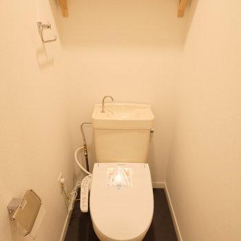 【イメージ】トイレにもウォシュレット設置◎※似た間取りの別部屋