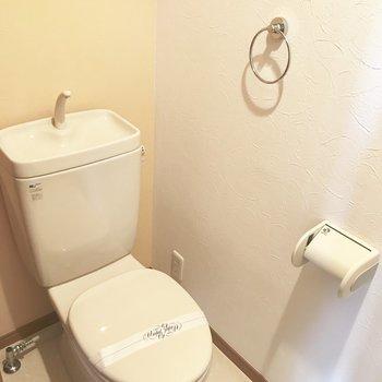 トイレはシンプルなタイプなのです。(※写真は同間取り11階の別部屋のものです)