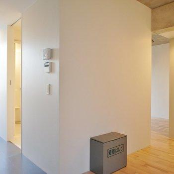 扉がないって美しい。※写真は2階同間取り別部屋のものです