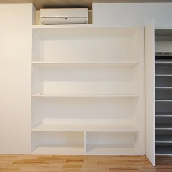 【LD】収納広々※写真は2階同間取り別部屋のものです