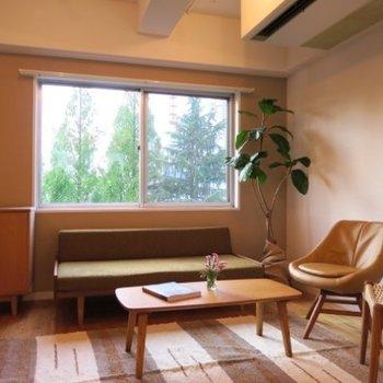 【家具イメージ】最上階ワンフロアでパークビュー!