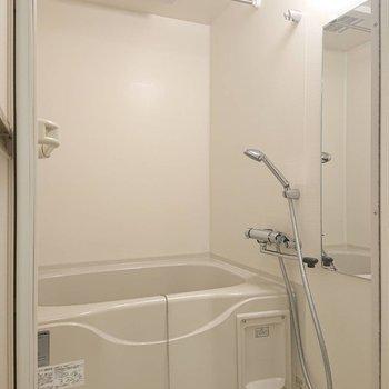 なんというか気持ちよさそうなシャワーヘッドです※写真は1階の反転間取り別部屋のものです