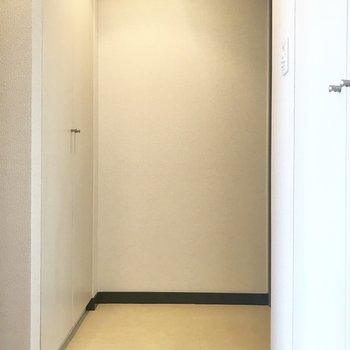 玄関もゆとりあります◯※写真は前回募集時のものです