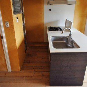 キッチンも大きくて、※写真は前回募集時のものです。