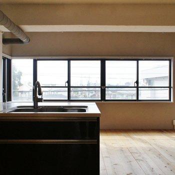この水平窓がいいね。※写真は前回募集時のものです。