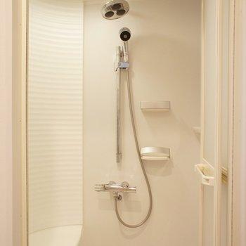 シャワールームなんです ※写真は3階の同間取り別部屋のものです。