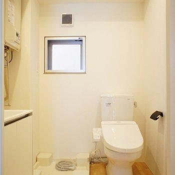 水周りも ※写真は3階の同間取り別部屋のものです。