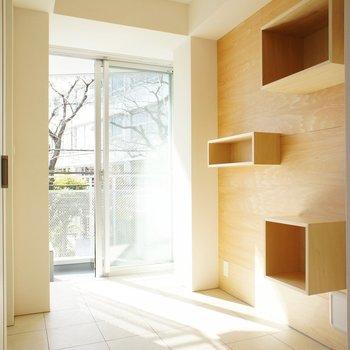 玄関にも ※写真は3階の同間取り別部屋のものです。