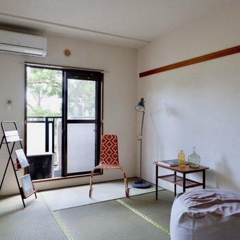 【和室】スタンダードなデザインですね。※家具・雑貨はサンプルです
