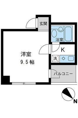 S-FORT日本橋箱崎 の間取り