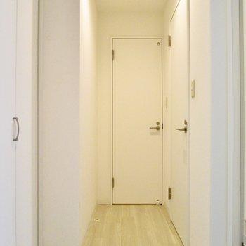 廊下に出ましょう。