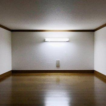 照明もつくので、さがしものをしやすい〜