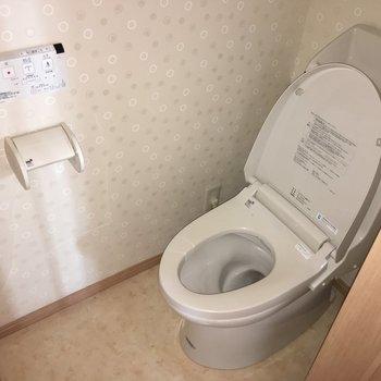 トイレ。ぱかん。※写真は前回募集時のものです