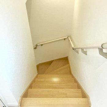 下階へいきましょう。