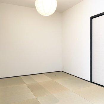 照明や琉球畳、こだわりの和室です。(※写真は清掃前のものです)