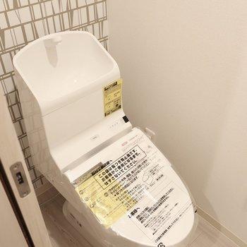 トイレもステキ※写真は同間取り別部屋のものです