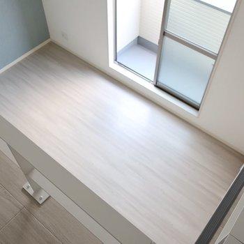 ロフトから眺めるの定番だよね◎※写真は同間取り別部屋のものです