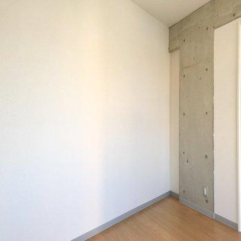 そしてこのとんがり!! ※写真は3階の同間取り別部屋のものです