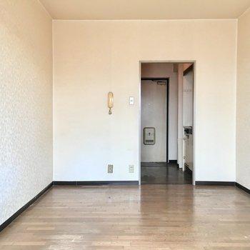 家具の配置がしやすいですね。(※写真は3階の同間取り別部屋のものです)