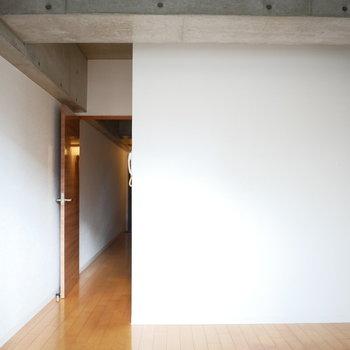 お部屋ごとのスペースはコンパクトだけど、用途でしっかり分けられますね◎
