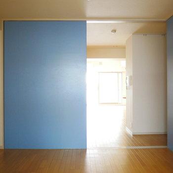 洋室は6帖の広さ