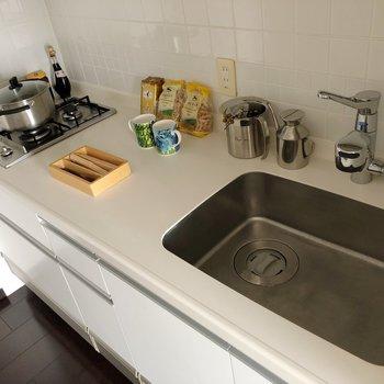 【DK】広い調理スペースで料理しやすそう!