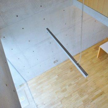 1階も見下ろせる※写真は別室です。