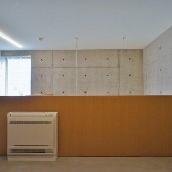 全面コンクリな2階です※写真は別室です。