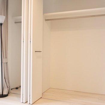 クローゼットは洋室のみだけど大きいから安心◎(※写真は2階の同間取り別部屋のものです)