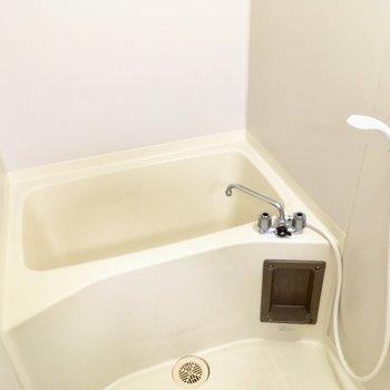 お風呂は普通サイズかな?