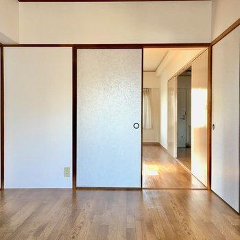 洋室は6帖の大きさ。子供部屋にしても良さそう。