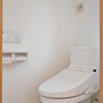 トイレまで!