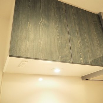 ウッド調のキッチンいいなぁ※写真は3階反転間取り別部屋のものです