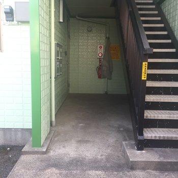 左側がお部屋です。