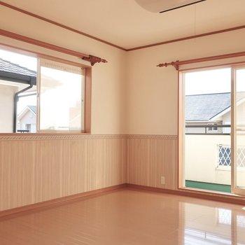 11帖の洋室は主寝室にぴったりな広さです