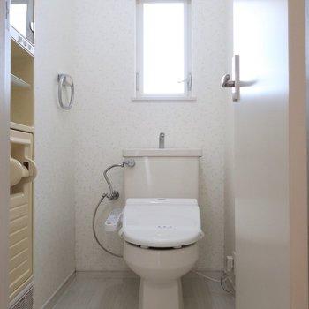 トイレも広い空間です