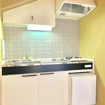 収納スペースなどもしっかりあるキッチン