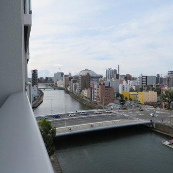 京セラドームも見えます※写真は同間取り別部屋のものです。