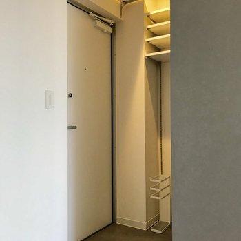 ドアを開けて生活感が隠れるのが嬉しいですね※写真は前回募集時のものです