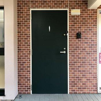 欧米チックな玄関♬