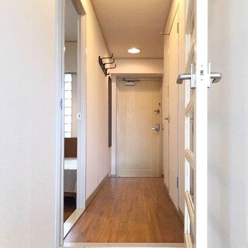 廊下側にももう1部屋。少し段差があるので早く慣れたい。