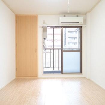 木調と白は爽やかですね〜※写真と文章は3階同間取り別部屋のものです。細部は異なることがあります。