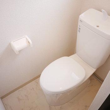トイレはシンプルだけどきれいな状態