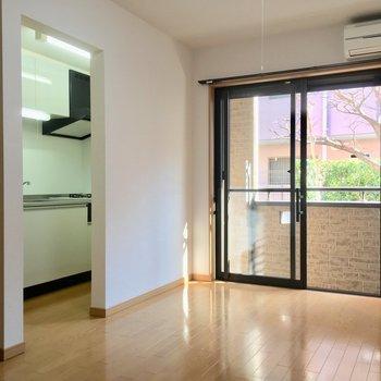 ひとり暮らしには十分の広さだね〜※写真は2階の同間取り別部屋のものです